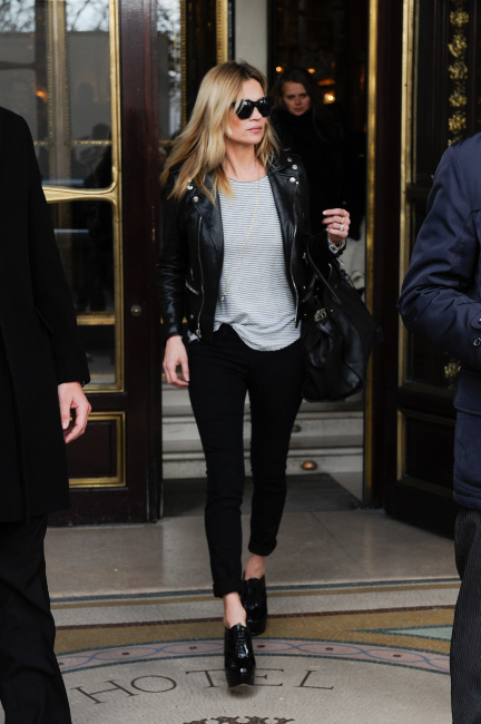 Kate Moss Leaves The Meurice Hotel - Paris