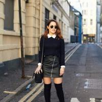 sweater x skirt