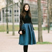 lace top x skirt