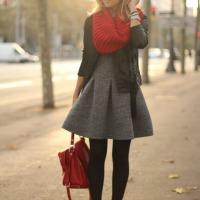 leather jacket x dress