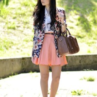 blazer x skirt
